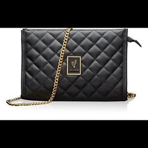 Younique quilted purse / makeup bag